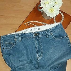Lands' End Jeans - 👖Land's End Jeans Curvy Fit Boot Leg jeans Inv5/2